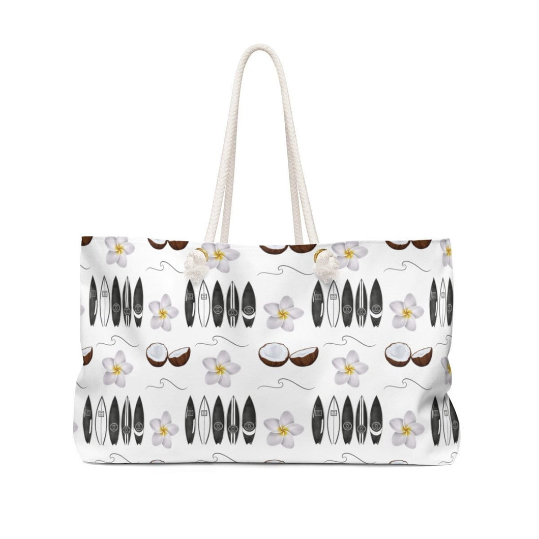 Aloha Weekender Bag Tote - Weekend Tote Bag - Planner Press Designs