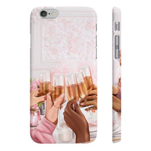 Load image into Gallery viewer, Cheers to Friendship iPhone Case - Protective Phone Cover - Planner Press Designs