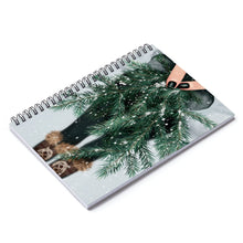 Load image into Gallery viewer, The Beauty Of Winter Light Skin Spiral Notebook - Ruled Line