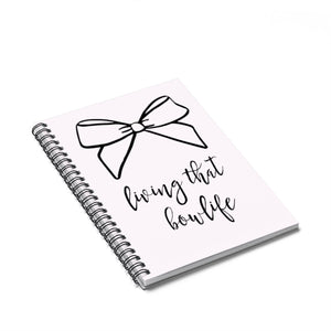That Bow Life Spiral Notebook - Ruled Line