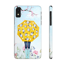 Load image into Gallery viewer, iPhone X Singing In The Rain Case Mate Slim Phone Cases