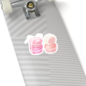 Pink Macarons Vinyl Sticker Decal