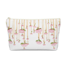 Load image into Gallery viewer, Dripping Flowers Accessory Pouch with T-bottom - Pencil Case
