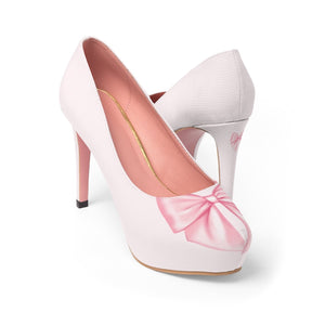 Bows On Her Shoes Women's Platform Heels - Planner Press Designs