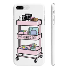 Load image into Gallery viewer, Planner Girl Cart iPhone Case - Protective Phone Cover