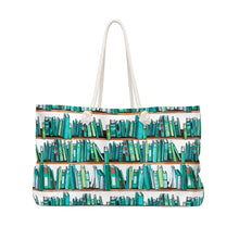 Load image into Gallery viewer, Books For Days Weekender Bag Tote - Weekend Tote Bag - Planner Press Designs
