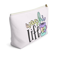 Load image into Gallery viewer, Washi Life Accessory Pouch with T-bottom - Pencil Case