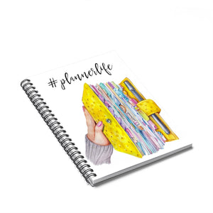 Planner Life Spiral Notebook - Ruled Line