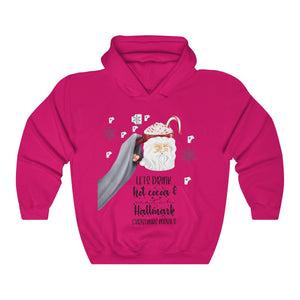 Hot Cocoa and Hallmark Unisex Heavy Blend™ Hooded Sweatshirt