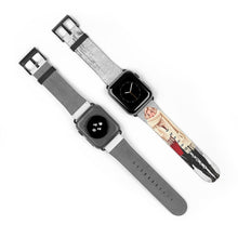 Load image into Gallery viewer, Winter Wonderland Light Skin Blonde Hair Watch Strap - Apple Watch Replacement Watch Band