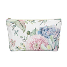 Load image into Gallery viewer, Succulents Accessory Pouch with T-bottom - Pencil Case