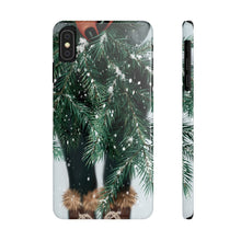 Load image into Gallery viewer, iPhone X Winter Branches Dark Skin Case Mate Slim Phone Cases