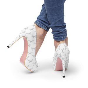All The Bows Platform High Heels - Planner Press Designs
