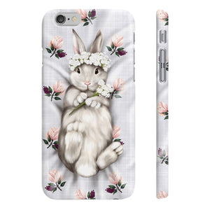 Bunny Princess iPhone Case - Protective Phone Cover - Planner Press Designs