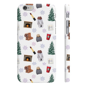 Winter Essentials iPhone Case - Protective Phone Cover