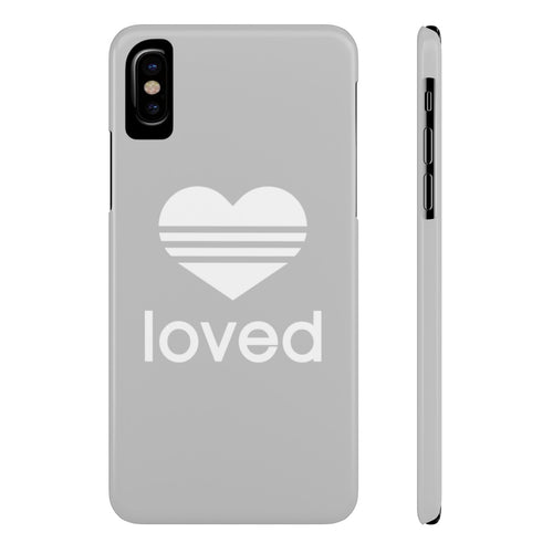 iPhone X LOVED Case Mate Slim Phone Cases