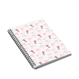 Pretty Office Spiral Notebook - Ruled Line