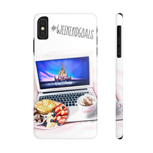 Load image into Gallery viewer, iPhone X Weekend Goals Case Mate Slim Phone Cases