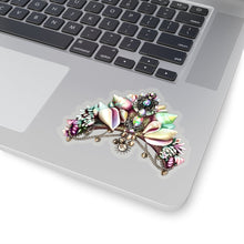 Load image into Gallery viewer, Mermaid Crown Vinyl Sticker Decal