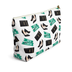 Fashion Week Accessory Pouch with T-bottom - Pencil Case