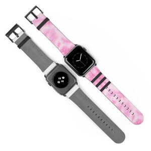 Pink Tie Dye Watch Strap - Apple Watch Replacement Watch Band