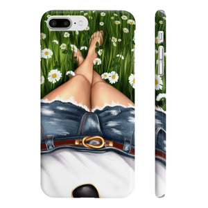 Summer Day Light Skin iPhone Case - Protective Phone Cover