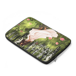 Fairytale Laptop Sleeve - Medium Skin - Brown Hair - Planner Press Designs