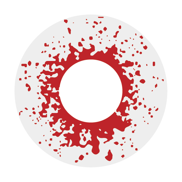ColorPlay Bloodshot Drops