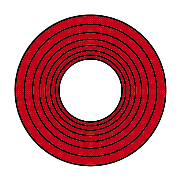 ColorPlay Red Spiral