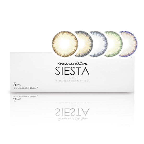 [ Asian Market ] SIESTA Romance Edition 1 -Month