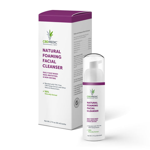 Natural Foaming Facial Cleanser