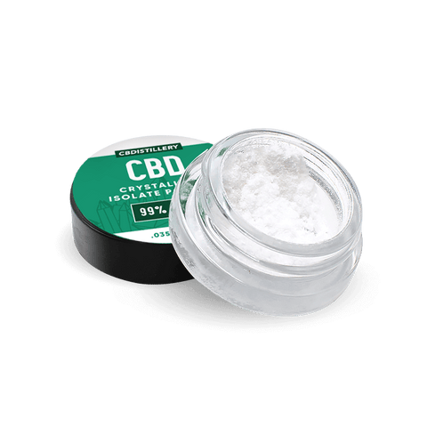 CBD Powder – 99+% Pure CBD Isolate Powder (Crystalline) from Hemp - 1 Gram