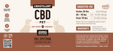 600mg 30ml CBD Pet Tincture