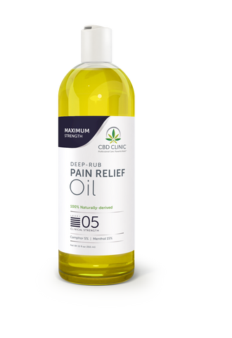 DEEP-RUB PAIN RELIEF OIL - LEVEL 5 - 12oz BOTTLE