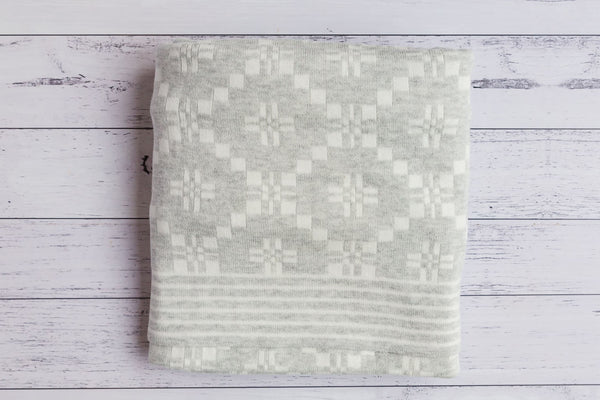 Pure Baby Geometric Blanket