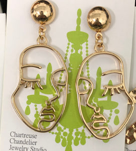 Two Face Earrings