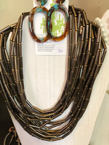 Wooden Modern Necklace