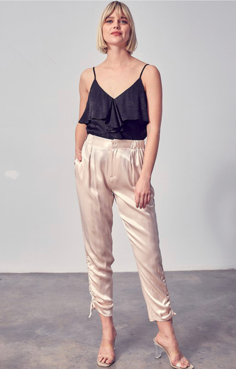Hannah Silk Dress Pants