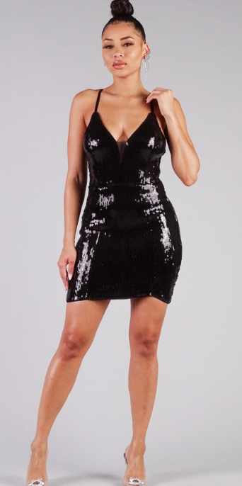 Mila Sequin Dress