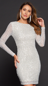 Kim Diamond Sequin Dress