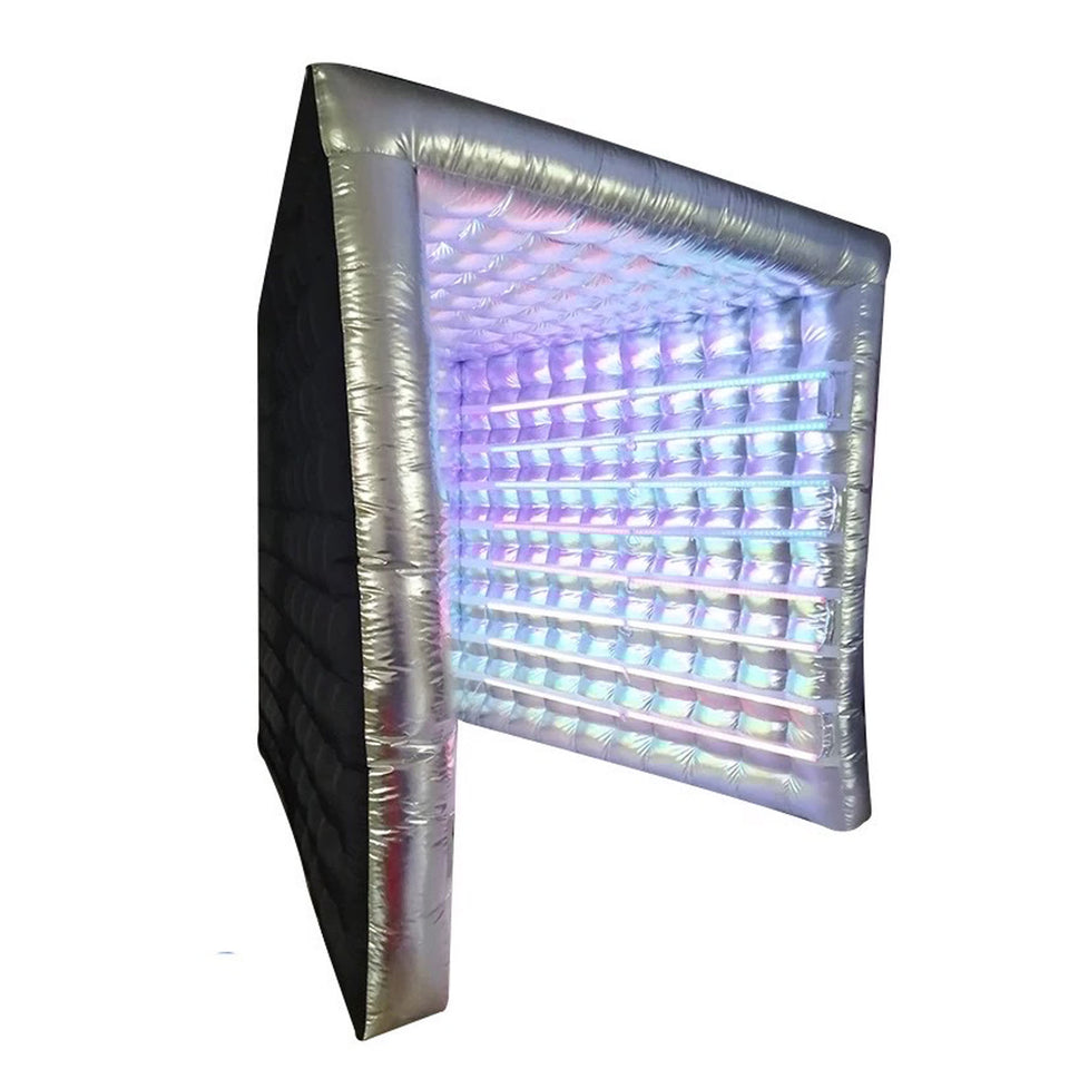 LED Inflatable Vogue Photo Booth Enclosure