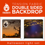 Halloween Light Set Double Sided Tension Fabric Photo Booth Backdrop