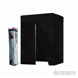 Eurmax 5×5 Pop-up Flat Top Photo Booth Tent with Carry Bag (No Print)