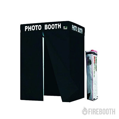 Eurmax 5×5 Pop-up Flat Top Photo Booth Tent with Carry Bag (Printed)