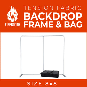 Tension Fabric Photo Booth Backdrop Frame