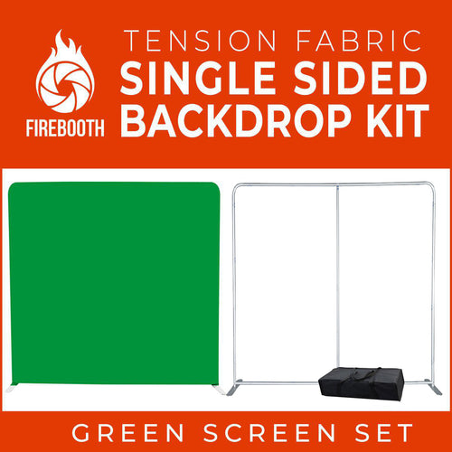 Green Screen Photo Booth Single Sided Backdrop