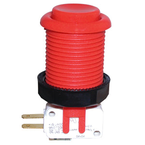 Happ Red Pushbutton with Horizontal Microswitch