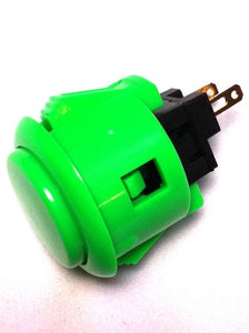 Sanwa OBSF-24 24mm Pushbutton, Green