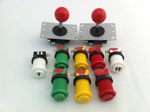 Joystick pack- 2 joysticks and 8 buttons