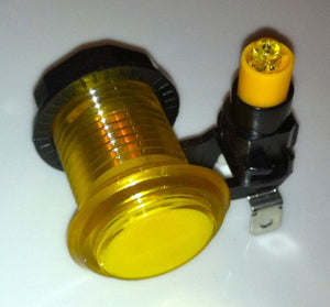 Yellow Illuminate push button with led light and micro switch